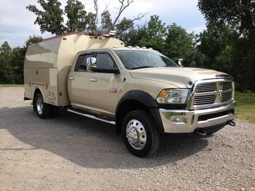 2011 dodge ram 5500 4x4 crew cab 21k miles over 85k invested for sale in leitchfield kentucky. Black Bedroom Furniture Sets. Home Design Ideas
