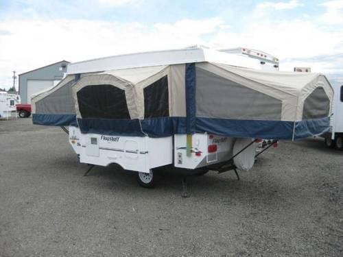 2011 Flagstaff Mac 228d Tent Trailer with Dinette Slide