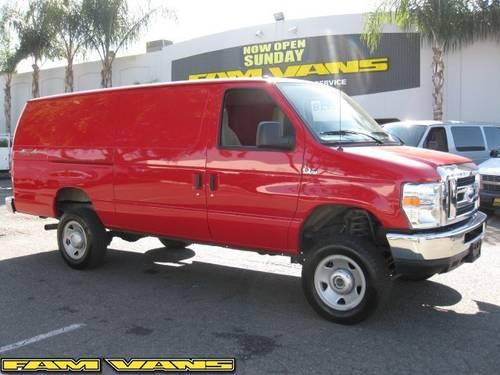 2011 ford e 250 4x4 extended cargo van a33647 for sale in santa ana california classified. Black Bedroom Furniture Sets. Home Design Ideas
