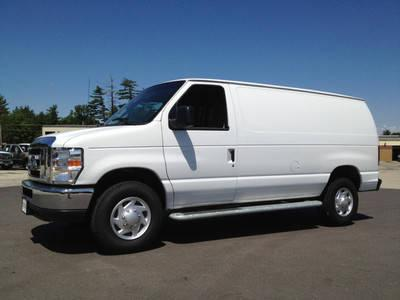 2011 ford econoline cargo van e250 xlt 1 owner for sale in manchester new hampshire classified. Black Bedroom Furniture Sets. Home Design Ideas