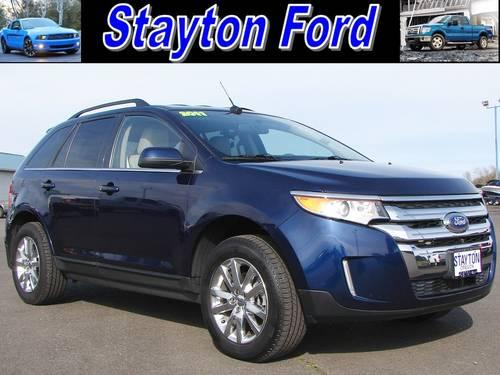 2011 ford edge suv limited for sale in aumsville oregon classified. Black Bedroom Furniture Sets. Home Design Ideas
