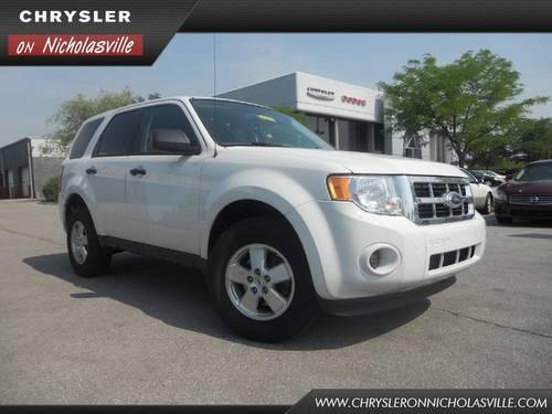 2011 ford escape suv xls for sale in nicholasville kentucky. Cars Review. Best American Auto & Cars Review