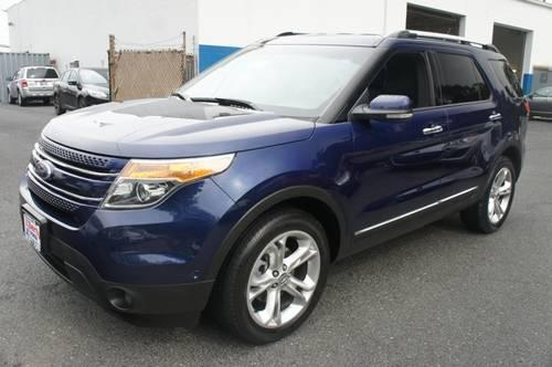 2011 ford explorer sedan limited w navigation backup camera for sale in foxridge maryland. Black Bedroom Furniture Sets. Home Design Ideas