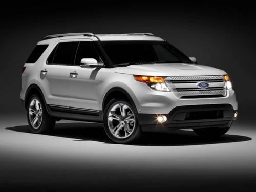 2011 FORD Explorer SUV FWD 4dr Limited