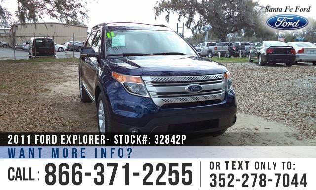 2011 Ford Explorer XLT - Warranty - Roof Racks