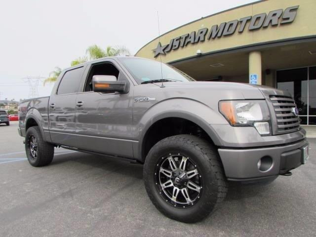 2011 Ford F-150 FX4 4x4 FX4 4dr SuperCrew Styleside 5.5