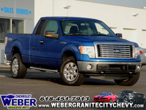 2011 ford f 150 super cab pickup 4x4 xlt for sale in granite city illinois classified. Black Bedroom Furniture Sets. Home Design Ideas