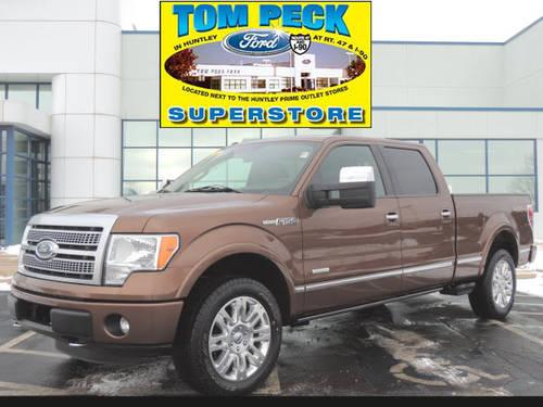 2011 Ford F-150 Supercrew 4X4 Crewcab Platinum 4x4