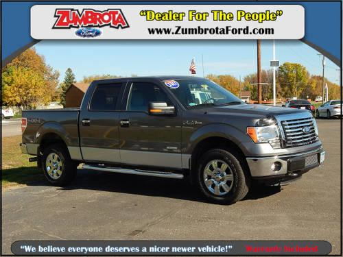 2011 ford f 150 supercrew 4x4 xlt for sale in zumbrota minnesota classified. Black Bedroom Furniture Sets. Home Design Ideas