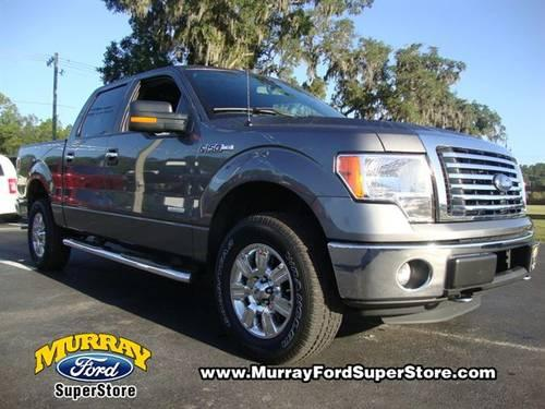 2011 ford f 150 xlt 4x4 ecoboost v6 crew cab gray. Black Bedroom Furniture Sets. Home Design Ideas