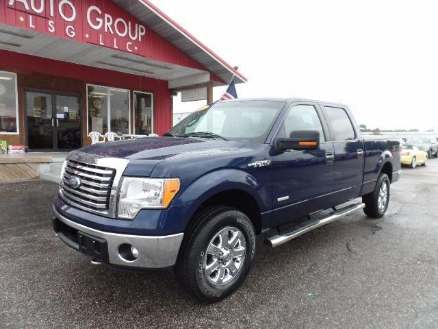 2011 Ford F-150 XLT 4x4 XLT 4dr SuperCrew Styleside 5.5