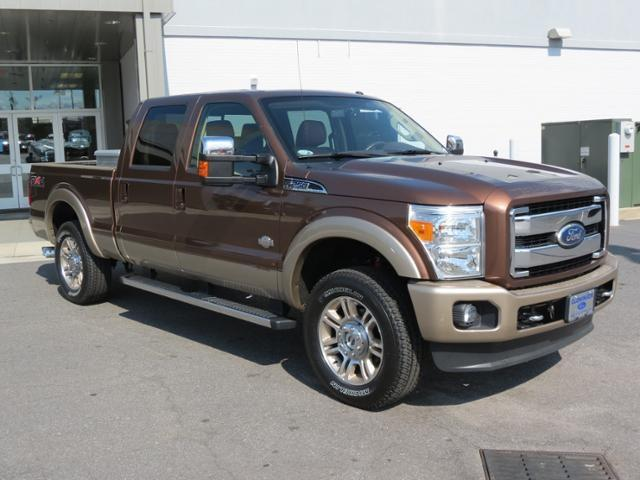2011 Ford F 250 4x4 King Ranch 4dr Crew Cab 8 Ft Lb
