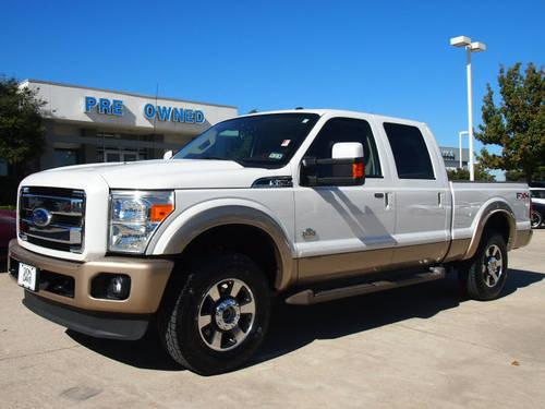 2011 Ford F 250 Super Duty Crew Cab 4x4 King Ranch For