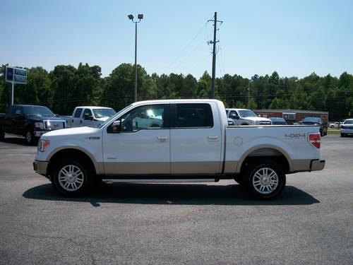2011 Ford F150 Supercrew 4x4 Lariat Ecoboost Only 7k