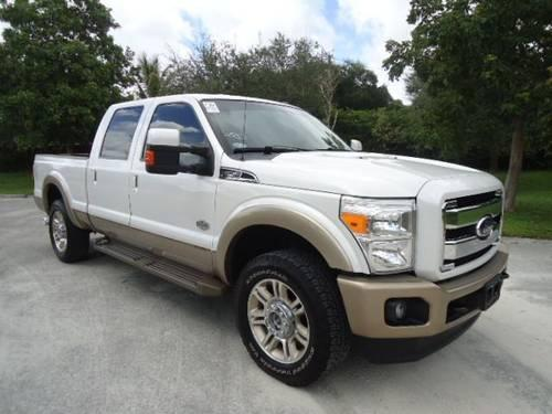2011 Ford F250 Pickup Truck King Ranch Crew Cab 4WD for Sale in Pembroke Park, Florida ...