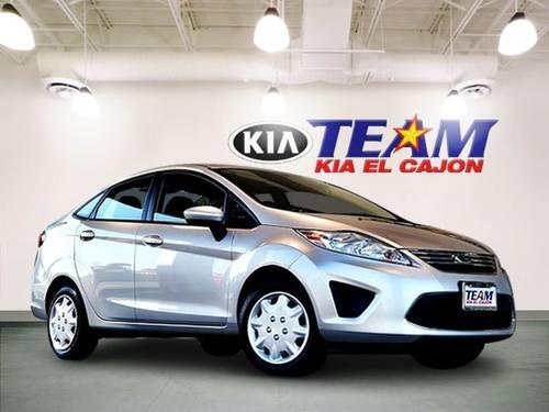 2011 Ford Fiesta 4d Sedan Se For Sale In El Cajon