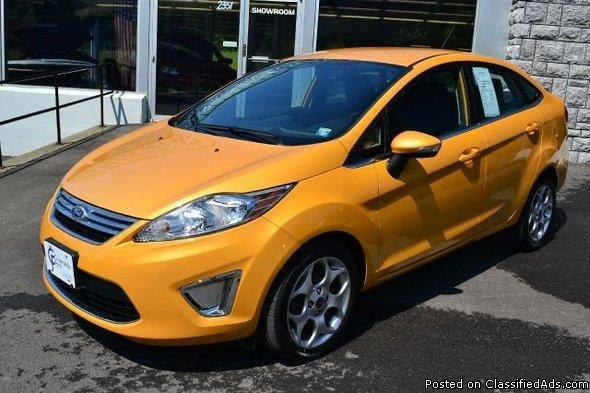 2011 ford fiesta 39 sel 39 heated seats for sale in ravena new york classified. Black Bedroom Furniture Sets. Home Design Ideas