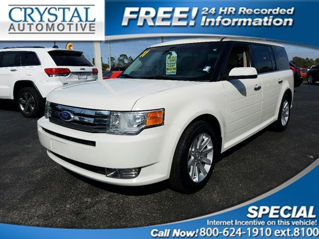 2011 ford flex sel sel 4dr crossover for sale in. Black Bedroom Furniture Sets. Home Design Ideas