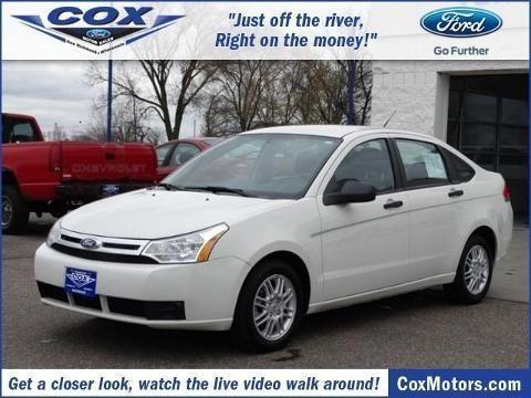 2011 ford focus 4 door sedan for sale in alden wisconsin for Cox motors new richmond wi