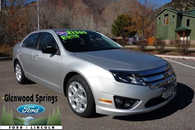 2011 Ford Fusion Se For Sale In Glenwood Springs Colorado
