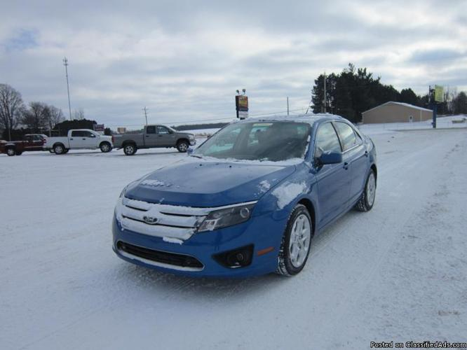 2011 ford fusion se for sale in edmore michigan classified. Black Bedroom Furniture Sets. Home Design Ideas