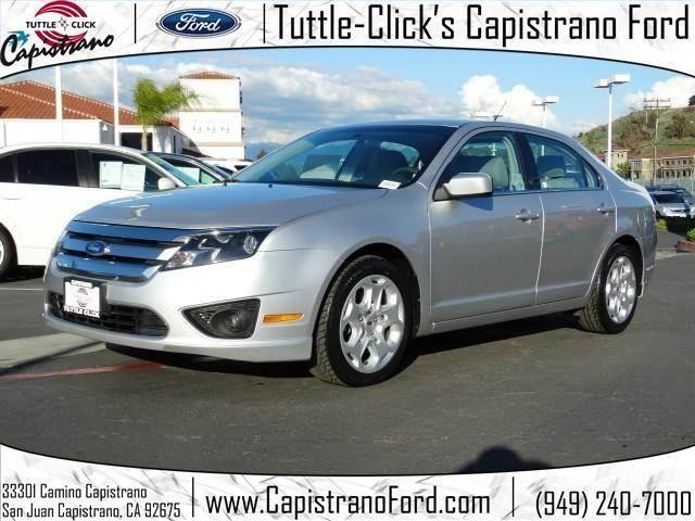 2011 ford fusion se sedan 4d for sale in mission viejo california classified. Black Bedroom Furniture Sets. Home Design Ideas