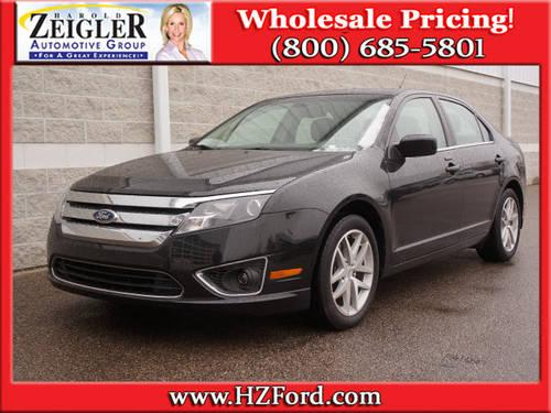 2011 Ford Fusion Sedan 4 Door 4dr Sdn Sel Fwd For Sale In