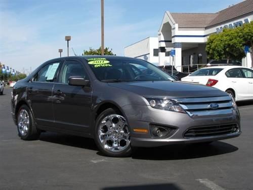 2011 ford fusion sedan se sedan for sale in bloomfield california. Black Bedroom Furniture Sets. Home Design Ideas