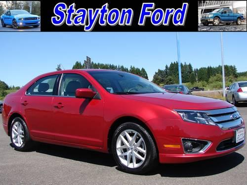 2011 ford fusion sedan sel for sale in aumsville oregon classified. Black Bedroom Furniture Sets. Home Design Ideas