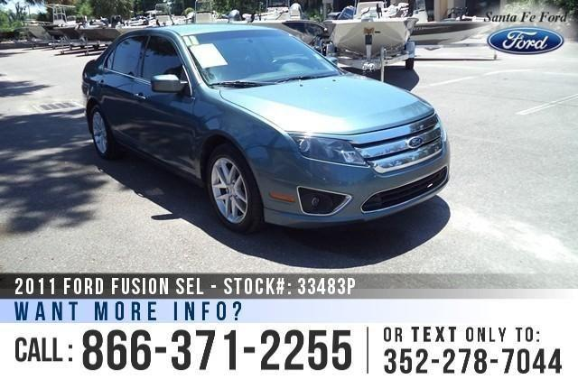 2011 Ford Fusion SEL - 98K Miles - Financing Available!
