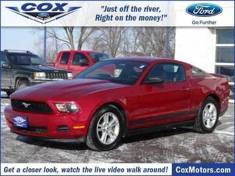 2011 ford mustang 2 door coupe for sale in alden for Cox motors new richmond wi