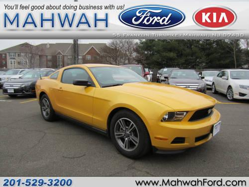 2011 ford mustang 2 dr coupe v6 for sale in mahwah new jersey classified. Black Bedroom Furniture Sets. Home Design Ideas