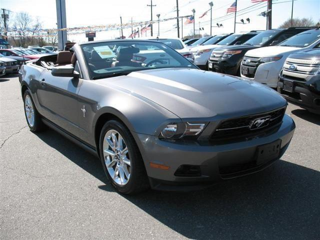 2011 ford mustang convertible 2dr conv v6 premium for sale in lionshead lake new jersey. Black Bedroom Furniture Sets. Home Design Ideas