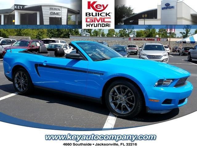 2011 ford mustang v6 premium v6 premium 2dr convertible for sale in jacksonville florida. Black Bedroom Furniture Sets. Home Design Ideas