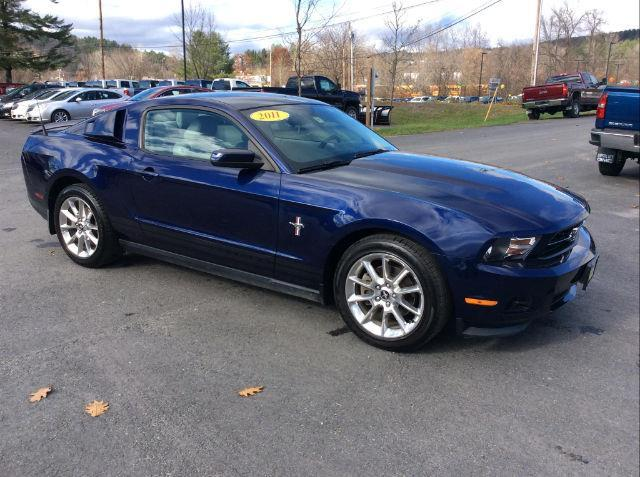 2011 ford mustang v6 v6 2dr coupe for sale in montpelier vermont classified. Black Bedroom Furniture Sets. Home Design Ideas