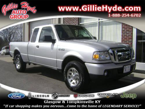 Gillie Hyde Glasgow Ky >> 2011 Ford Ranger Extended Cab Pickup XLT 4x4 for Sale in ...