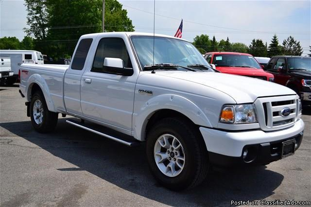 2011 ford ranger sport extended cab 4x4 low low miles for sale in rhinebeck new york. Black Bedroom Furniture Sets. Home Design Ideas