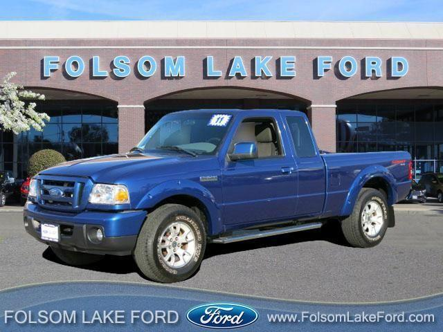 2011 ford ranger super cab sport pickup 6 ft for sale in folsom california classified. Black Bedroom Furniture Sets. Home Design Ideas