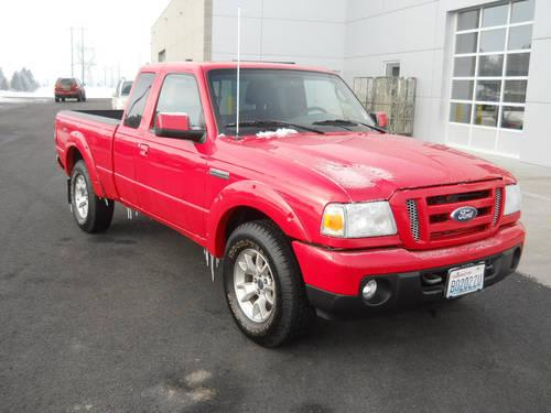2011 ford ranger truck super cab for sale in spokane washington classified. Black Bedroom Furniture Sets. Home Design Ideas