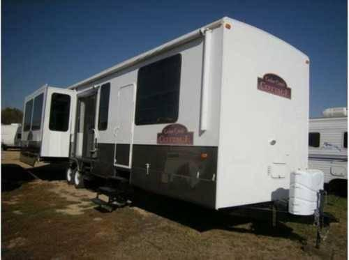 Astounding 2011 Forest River Cedar Creek Cottage 40Crl Travel Trailer Download Free Architecture Designs Salvmadebymaigaardcom