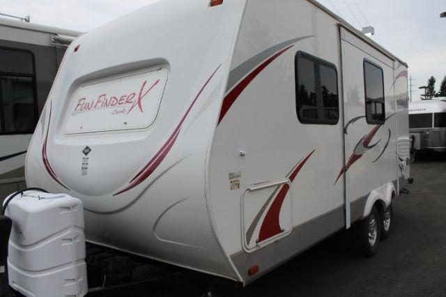 2011 Fun Finder 21 Trailer with slide