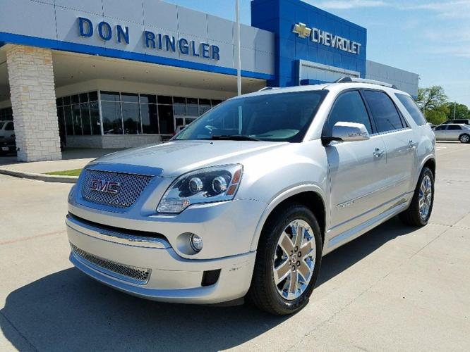 2011 gmc acadia denali denali 4dr suv for sale in temple texas classified. Black Bedroom Furniture Sets. Home Design Ideas