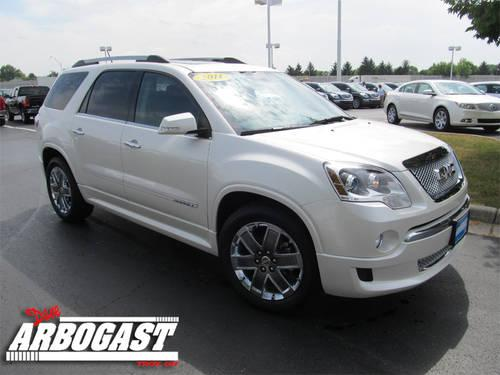 2011 gmc acadia suv denali for sale in troy ohio classified. Black Bedroom Furniture Sets. Home Design Ideas