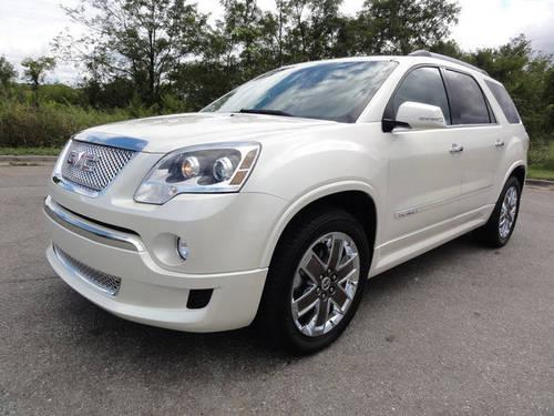 2011 gmc acadia suv denali for sale in knoxville tennessee classified. Black Bedroom Furniture Sets. Home Design Ideas
