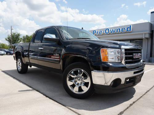 2011 gmc sierra 1500 extended cab pickup sle for sale in denton texas classified. Black Bedroom Furniture Sets. Home Design Ideas
