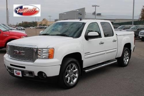 2011 gmc sierra 1500 pickup truck awd crew cab 143 5 denali for sale in mount pleasant texas. Black Bedroom Furniture Sets. Home Design Ideas