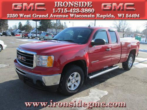 2011 GMC Sierra 1500 Truck 4x4 SLE 4dr Extended Cab 6.5