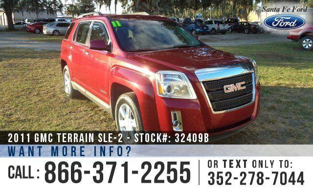 2011 Gmc Terrain SLE-2 - Back-up Cam - Cruise Control