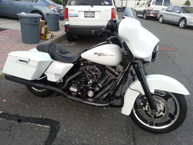 2011 Harley Davidson Street Glide FLHX Hot White Denim for ...