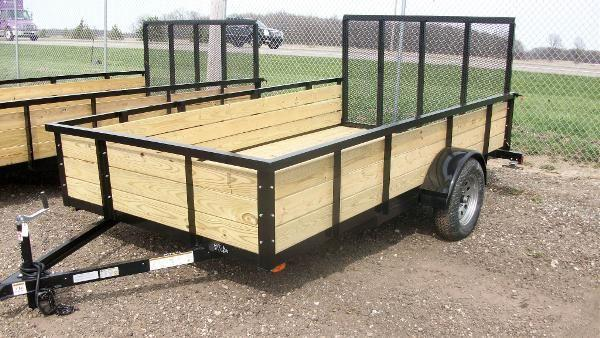 2011 haul it 6 5x12 single axles utility trailer for sale for sale in